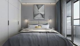 40平米小户型现代简约风格卧室效果图