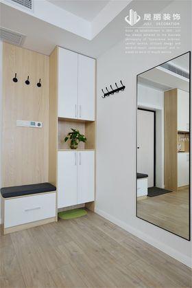 120平米三室兩廳北歐風格玄關圖片