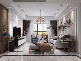 100平米三現代簡約風格客廳欣賞圖