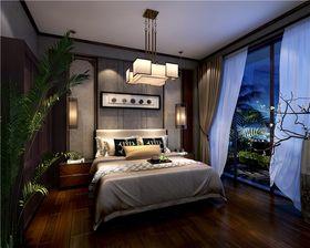 140平米复式中式风格卧室装修图片大全