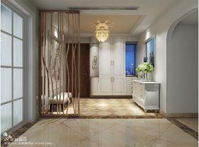 经济型100平米三室两厅现代简约风格玄关装修图片大全