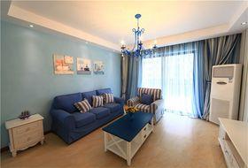 100平米三室两厅地中海风格客厅装修图片大全