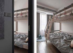 豪华型140平米三室两厅现代简约风格儿童房图片大全