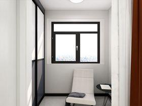 70平米现代简约风格阳台图片