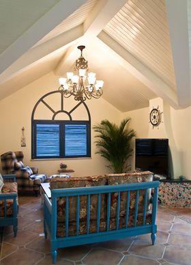 20万以上130平米三室两厅混搭风格客厅装修图片大全