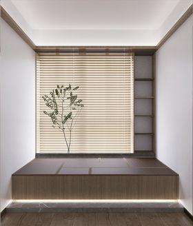 110平米三室一厅日式风格书房装修案例