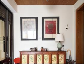 经济型100平米三室两厅混搭风格书房装修案例