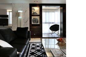 130平米三室两厅现代简约风格阳台图