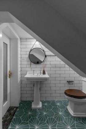 120平米复式美式风格厨房图片