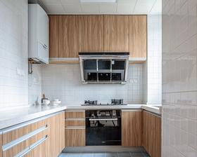 120平米三室两厅日式风格厨房欣赏图