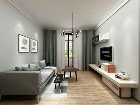 5-10万90平米现代简约风格客厅图片大全