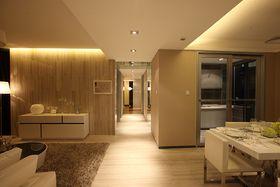 5-10万90平米现代简约风格走廊装修案例