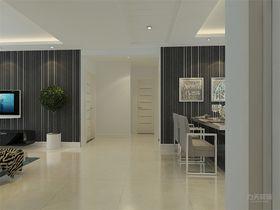 100平米三室两厅现代简约风格走廊效果图