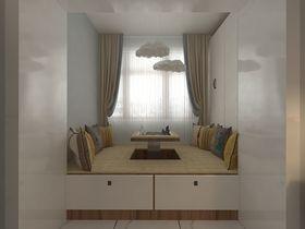 60平米一室一厅北欧风格阳台设计图