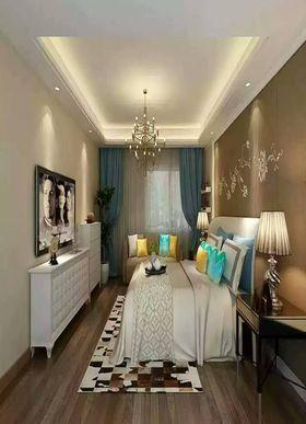 豪华型140平米三室两厅法式风格卧室图片