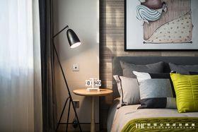 130平米三室两厅宜家风格卧室图