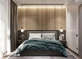 经济型60平米北欧风格卧室欣赏图