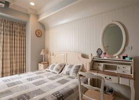 80平米三美式风格卧室效果图