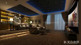 140平米别墅新古典风格影音室装修案例