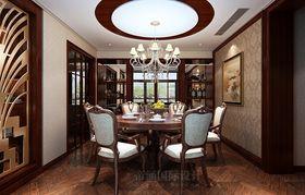 富裕型130平米三室两厅新古典风格厨房欣赏图