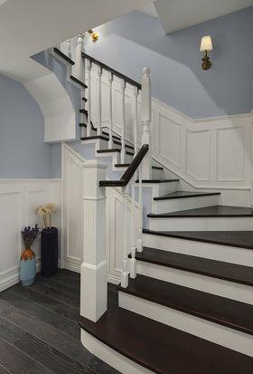 100平米三美式风格楼梯间图片大全