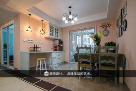 120平米三室两厅美式风格餐厅装修案例