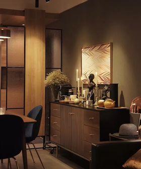 140平米三室两厅混搭风格玄关图片
