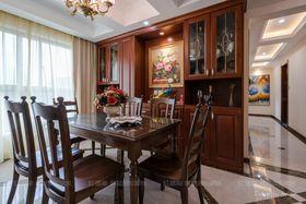 140平米三室兩廳歐式風格餐廳櫥柜設計圖