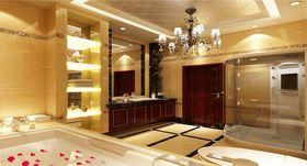 豪华型140平米四室两厅欧式风格卫生间效果图