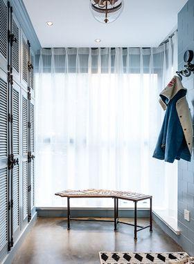 140平米三室两厅混搭风格玄关装修案例