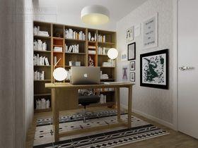 现代简约风格书房装修图片大全