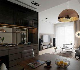 5-10万130平米三室两厅现代简约风格厨房欣赏图