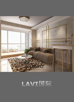 富裕型60平米一居室地中海风格阳台欣赏图