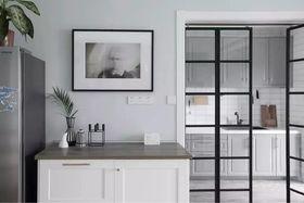 130平米三室两厅北欧风格厨房装修图片大全