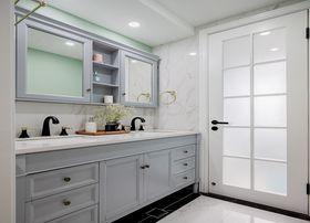 120平米三室兩廳美式風格衛生間裝修效果圖