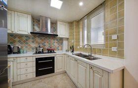 富裕型120平米三室两厅美式风格厨房装修效果图
