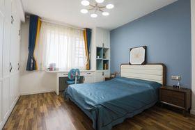 100平米复式混搭风格卧室效果图