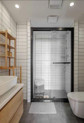 80平米日式风格卫生间设计图