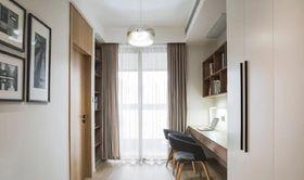 100平米三室两厅现代简约风格书房装修案例