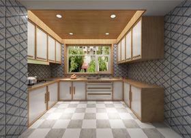 70平米日式風格廚房效果圖