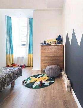 80平米三北欧风格儿童房图片大全