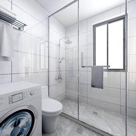 30平米以下超小户型北欧风格卫生间装修案例