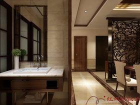 20万以上140平米别墅中式风格卫生间装修案例