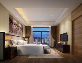 富裕型140平米四室两厅混搭风格卧室装修效果图
