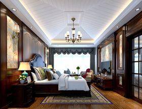 140平米別墅美式風格臥室裝修案例