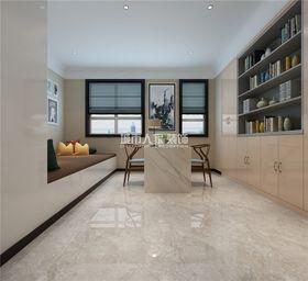 140平米别墅新古典风格书房装修效果图