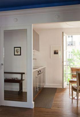 110平米三室一厅现代简约风格厨房装修图片大全