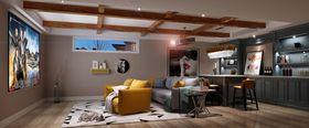 140平米别墅北欧风格影音室装修效果图