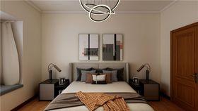 100平米三室两厅现代简约风格卧室设计图