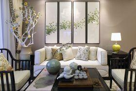 经济型90平米东南亚风格客厅效果图